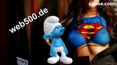 Schlumpf einer der Schlümpfe von Zoobe deutsch http://web500.de