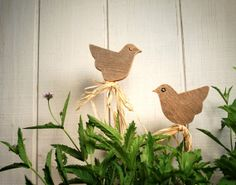 Fall Wedding Centerpiece Rustic Birds by ThePolkadotMagpie on Etsy, $24.00