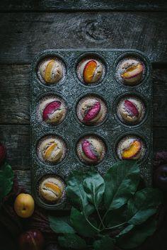 Pluot Financiers by Eva Kosmas Flores | Adventures in Cooking