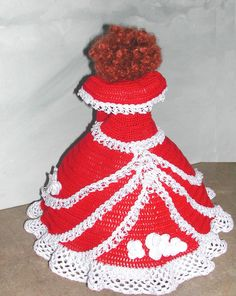 Crochet Fashion Doll Barbie Pattern 660 by JudysDollPatterns