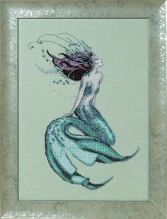 Mirabilia Lillith of Labrador - - Leaflet. Discover more patterns by Mirabilia at LoveCrafts. From knitting & crochet yarn and patterns to embroidery & cross stitch supplies! Cross Stitch Kits, Cross Stitch Charts, Cross Stitch Patterns, Needlepoint Kits, Needlepoint Canvases, Cross Stitch Embroidery, Embroidery Patterns, Labrador, Mermaid Cross Stitch