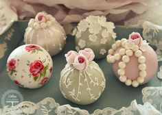 Vintage sphere cakes | Flickr - Photo Sharing!