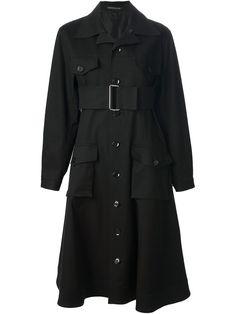Yohji Yamamoto Vintage Structured Trench Coat - Penelope - Farfetch.com