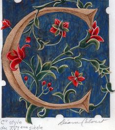 """Image result for ideas for illuminated letter """"C"""""""