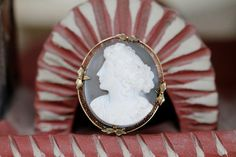 Antique Cameo Brooch Pendant Sardonyx 14k Yellow Gold Filigree – Yourgreatfinds