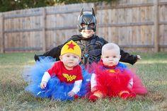Halloween super heros! #halloween, #superheros, kids costumes, wonder woman, super girl, batman