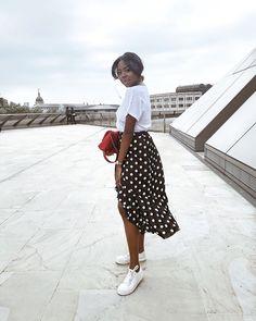 #polkadots #ruffles #wraps #fashion #girlboss #inspiration #inspo #instagram