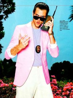 GQ Italia features Miami Vice in the editorial for the June 2012 issue. The editorial was shot by photographer Tony Kelly and is styled by Peter Cardona.