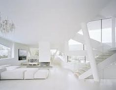 Image result for all white interiors in contemporary style