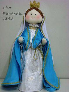 Nossa Senhora.  #licafernandesateliê