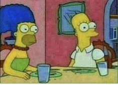Memes Simpsons, Cartoon Memes, Cartoon Icons, The Simpsons, Cartoons, Lisa Simpson, Simpson Maggie, Love Images, Funny Images