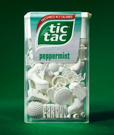 tic tacs : 3D Printing to celebrate the tic tac's 30 years market presence