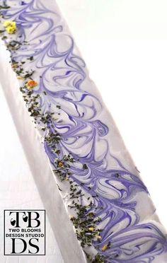 Lavender Mint soap loaf