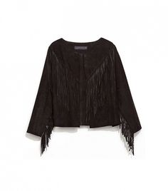Zara Fringed Leather Jacket - Our Favorite Pre-Fall Pieces To Shop Now via @WhoWhatWear