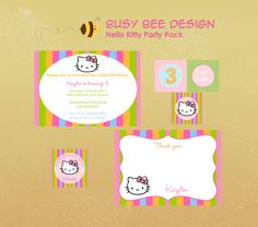 hello kitty on Pinterest | Hello Kitty Parties, Hello Kitty Birthday ...