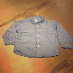 Baby gap cotton shirt Baby gap cotton shirt. This little classic is a must for every little toddler.  Size 3T . No spots stains or tears. Great condition BabyGap Tops Button Down Shirts