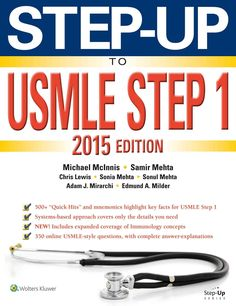 Picture of first aid for the usmle step 1 2017 27th edition step up to usmle step 1 2015 fandeluxe Gallery