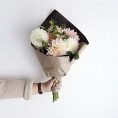 no rain, no flowers ❁ // Deco Floral, Arte Floral, My Flower, Beautiful Flowers, Beautiful Bouquets, Flower Crown, Beautiful Dresses, Plants Are Friends, Bloom