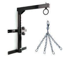 Yes4All Wall Mount Heavy Bag Hanger with Heavy Bag Chain - ²SROGZ Yes4All http://www.amazon.com/dp/B00F4AQ0LY/ref=cm_sw_r_pi_dp_JpkBvb0H33015 $47.