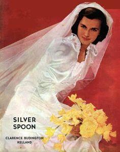 Saturday Evening Post - June Bride, 1941 (T. 1940s Wedding, June Bride, Saturday Evening Post, Night Photos, Norman Rockwell, Vintage Magazines, Vintage Bridal, Love Art, Retro