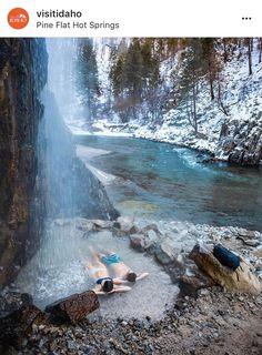 Pine Flat Hot Springs, Meridian, Idaho (outside of Boise) - Fernweh - Travel Vacation Places, Dream Vacations, Vacation Spots, Places To Travel, Places To See, Travel Destinations, Summer Vacations, Idaho Falls, Idaho Hot Springs