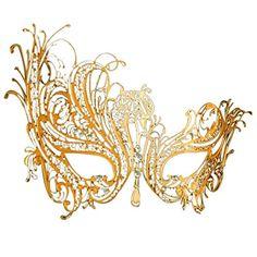 Coxeer® Gold Elegant Lady Masquerade Halloween Mardi Gras... https://www.amazon.com/dp/B00T60VT4Q/ref=cm_sw_r_pi_dp_x_baJayb01HF4RQ