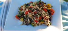 Δες εδώ μια πολύ νόστιμη και πολύ ξεχωριστή συνταγή για να φτιάξεις ΡΥΖΟΣΑΛΑΤΑ ΜΕ ΛΑΧΑΝΙΚΑ, μόνο από την Nostimada.gr
