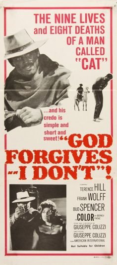 Australian daybill for GOD FORGIVES...I DON'T!