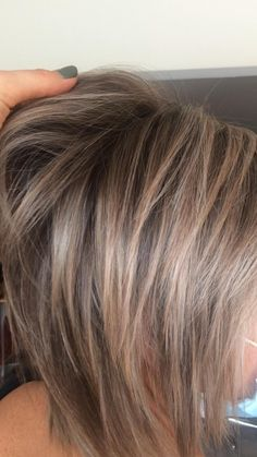 Bob Haircut For Fine Hair, Bob Hairstyles For Fine Hair, Haircuts For Fine Hair, Pixie Haircut, Bob Hairstyles With Fringe Over 50, Short Highlighted Hairstyles, Hairstyles For Older Women, Short To Medium Haircuts, Reverse Bob Haircut