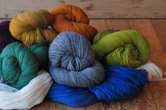 Baby Lace is a beautiful hand painted, 2-ply, superwash merino wool yarn by Dream In Color.