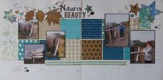 2015-05-15_Nature'sBeauty: ScrapPlezier - May Mood Board  Jowilna layout, Lady Pattern paper