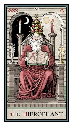 Basic Cleansing & Purification Spell to banish negativity taping into the power of the Hierophant- Magical Recipes Online