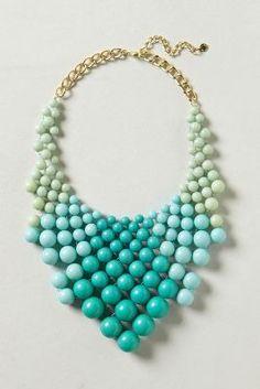 Ocean Bauble Bib Necklace