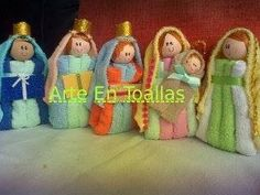Nacimientos Navideños En Toallas Navidad Recuerdos