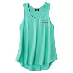 Target : Prabal Gurung For Target® Pebble Racerback Tank Top -Atlantis Green : Image Zoom