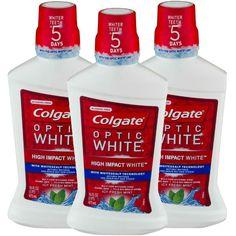 Consigue en CVS los Colgate Optic White Rinse de 16 oz a $5.69 regularmente. Esta semana cuando gastas $10 en estos productos recibes $5 ...
