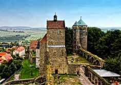 Stolpen Castle by Robert Karo, via 500px