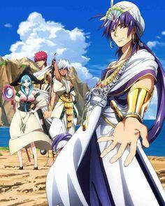 Anime Magi, Manga Anime, Cute Anime Guys, Anime Love, Magi Adventures Of Sinbad, Magi Kingdom Of Magic, Sinbad Magi, Fairy Tail Love, Anime People