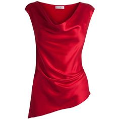 Amanda Wakeley Hisa Draped Silk Top and other apparel, accessories and trends. Browse and shop 3 related looks.