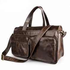 41707f5eda8c Large Men Casual Briefcase Business Shoulder Bag First Layer Cowhide  Leather Messenger Bags Laptop Handbag Bag Men s Travel Bags
