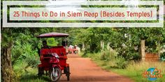 Siem Reap, Cambodia has many things to do beyond the Angkor Wat temples. A historic City, Feet Do Travel tell you things to do in Siem Reap on a budget, at night, and where to eat. This is your ultimate travel guide to Siem Reap. Cambodia Beaches, Cambodia Travel, Padi Diving, Scuba Diving, Stuff To Do, Things To Do, Diving Course, Little Island, Siem Reap