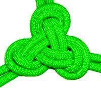 Triskelion Knot, decorative knot, _by free-macrame-patterns, ' Tutorial, 'tuto FREE photo-text, - Flat Knot, -flat Chinese, = Shape, =shape Triangle, --- Triskelion Knot