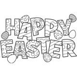 Easter Coloring Pages, Free Easter Coloring Pages for Kids