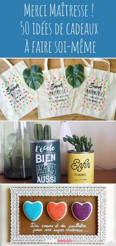50 gift ideas for the mistress - Idée cadeau - noel Diy Cadeau Maitresse, Sewing Online, Cool Art Projects, Diy Canvas Art, Diy For Girls, Little Gifts, Diy Painting, Diy Art, Customized Gifts
