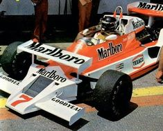 1978 McLaren M26 experiment - James Hunt
