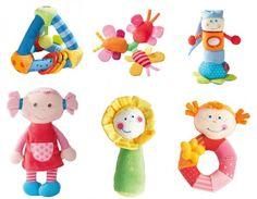 Primeros juguetes de tela para el bebé                                                                                                                                                     Más