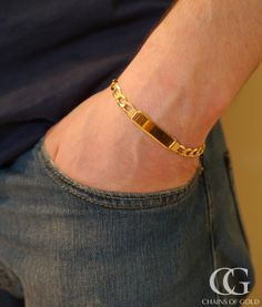 You many think that the higher the carat, the better the jewelry. Not so with for men's gold jewelry. Read more here about which gold to buy for jewelry. Mens Gold Bracelets, Mens Gold Jewelry, Gold Rings Jewelry, Fashion Bracelets, Jewellery, Silver Rings, Men's Jewelry, Mens Gold Rings, Steel Jewelry
