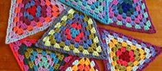 Transcendent Crochet a Solid Granny Square Ideas. Inconceivable Crochet a Solid Granny Square Ideas. Grannies Crochet, Granny Square Crochet Pattern, Crochet Squares, Love Crochet, Crochet Motif, Crochet Crafts, Crochet Yarn, Crochet Stitches, Crochet Projects