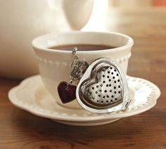 present - maybe....tea heart - just as a small extra little lovely present? It could just be for someone who's special to you - nothing grand just lovely! PS! Remember to buy a nice tea and wrap it up nicely too!