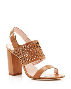kate spade new york Imani Cutout Block Heel Sandals